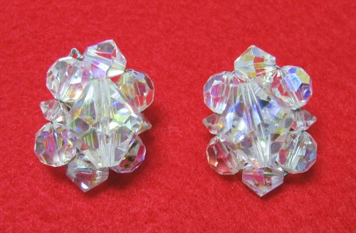 Coro Crystal Earrings