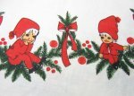 Pixies Elves Holiday Season Tablecloth