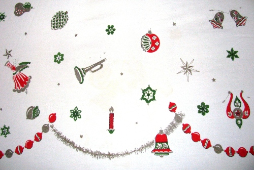 Eames Era Christmas Bed Topper