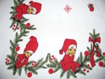 Pixies Elves Christmas Tablecloth
