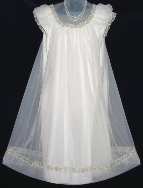Vanity Fair Chiffon Nightgown