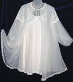 Vanity Fair Ivory Peignoir