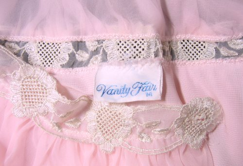 Vanity Fair Tag and Lace