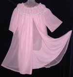 Vanity Fair Pink Peignoir