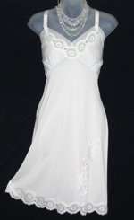 Vanity Fair Embroidered Slip