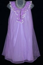 Vintage Purple Nightgown Slumber Suzy