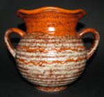Germany Orange Vase